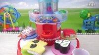 奇奇和悦悦的玩具 2016 面包超人旋转料理 寿司猪猪侠 粉红小猪妹 玩具食玩 239