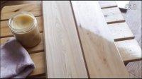 香柏木纯实木地板上木蜡油效果