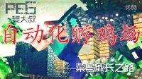 """【麦大叔】MC新手教程pe6----""""自动养鸡场!"""""""