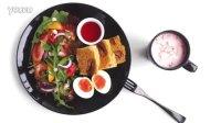 ChargeWu| 鲜虾蔬菜沙拉,早餐也要吃出腹肌