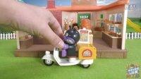 奇奇和悦悦的玩具 2016 披萨外卖订餐猪猪侠 海底小纵队 面包超人 340