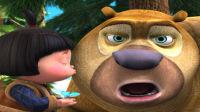 【琳子解说】 熊出没之环球大冒险★休闲小游戏 单机游戏★熊出没之熊大切水果