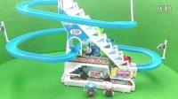 美国队长玩具人偶 儿童男孩玩具 托马斯滑滑梯拆箱 148