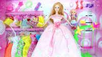 亲子游戏 芭比娃娃 小娃娃洗澡 芭比公主 过家家玩具总动员 儿童玩具车 粉红猪小妹
