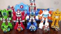 巨大的变形金刚玩具 救援机器人 变形金刚玩具 Huge Transformers Rescue Bots