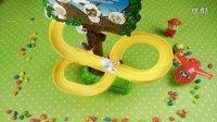 喜羊羊与灰太狼超级摩天轮电动轨道玩具 儿童玩具滑梯 超级飞侠 猪猪侠 熊出没 爱探险的朵拉 巧虎 铠甲勇士 面包超人 花园宝宝 小猪佩奇 海绵宝宝 天线宝宝