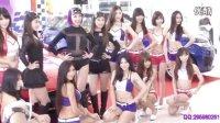 2016台湾车展动感音乐 美腿车模群体热舞制服诱惑