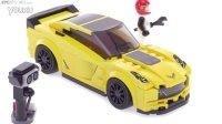 乐高 LEGO Speed Champions 超级赛车系列 75870 雪佛兰科尔维特Z06 2016新款