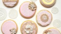 【喵博搬运】【食用系列】翻糖蕾丝糖霜饼干《ㆀ˘・з・˘》