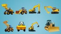 挖掘机视频表演大全 挖掘机工作视频 工程车大全 挖掘机挖土机铲车推土机货车搅拌车 玩具车 汽车总动员