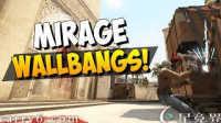 【CSGO教学】mirage上十大有用的穿射点!