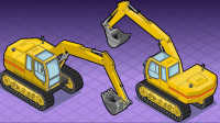 最新挖掘机表演视频 儿童玩具挖掘机 工程车大全 挖掘机推土机挖土机铲车货车 汽车总动员 玩具车视频