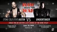 WWE冷石奥斯丁与99年送葬者大决战!!(第一回合