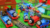 托马斯和他的朋友们 #003# 好多托马斯小火车啊 轨道大师 玩具