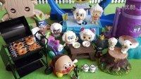 日本食玩过家家喜羊羊面包超人托马斯