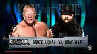 WWE布洛克莱斯纳单挑邪教首领布雷 2K16中文实况解