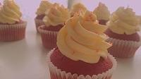 「M」红丝绒杯子蛋糕  Red Velvet Cake 《168》