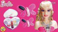 芭比娃娃半身人偶化妆套装|女孩化妆玩具