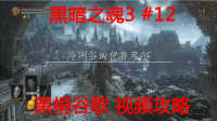【黑暗之魂3】黑桐谷歌视频攻略 12 冷冽谷 老恶魔王