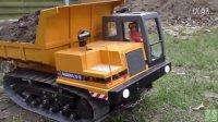 【极酷花园】RC遥控车 施工工地『自卸货车,推土机』【RC世界系列】