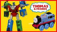 开心时刻与玩具介绍 2016 托马斯小火车变形金刚机器人 51