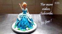 如何制作一个芭比之珍珠公主娃娃生日蛋糕