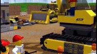 乐高我的城市 轮船挖掘机吊车飞机总动员救人 积木玩具