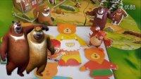 熊出没之三只小熊换装拼图小游戏 益智手工玩具总动员