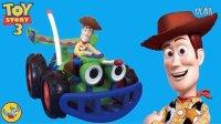 玩具总动员胡迪警长的遥控车拆箱与试玩