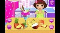 爱探险的朵拉系列游戏之蓝莓冰淇淋小主公解说