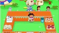 爱探险的朵拉系列游戏之朵拉蛋糕店小主公解说