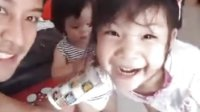 分享第二段pong哥Facebook直播的在家和小pai小pin的视频160520