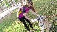 富二代妹妹拉娜的新宠物 - 老虎!!! Tiger