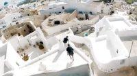 【洁癖男】英国Storror新作!圣托里尼屋顶跑酷PARKOUR ISLAND SANTORINI - DRONE 4K