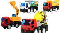 机器车大战 挖土机玩具 工程车挖土机大型玩具电动车四轮童车可坐可骑挖机钩机 汽车总动员