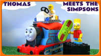 托马斯小火车大发现~神奇惊喜袋子! 托马斯和他的朋友们 托马斯小火车动画 吉普森 乐高小人