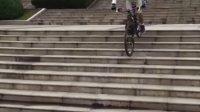 视频: 山地车下楼梯