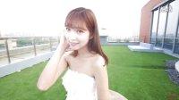 甜美蕾丝韩式抹胸结婚齐地蓬蓬裙淘宝天猫婚纱摄影MV视频拍摄