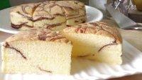大理石牛油海绵蛋糕,烫面黄金蛋糕