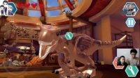 乐高侏罗纪世界手机版第12期:第3章厨房逃脱和主厅★恐龙积木玩具游戏