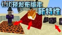 【Bread出品】1.10预发布版本新特性介绍丨Minecraft我的世界小课堂