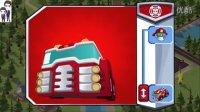 变形金刚:救援机器人第10期:森林大火和火山爆发★汽车人玩具