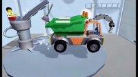 汽车总动员挖掘机视频 吊车工程车 垃圾车玩具车直升飞机 挖土机 遥控车搅拌机 汽车拼