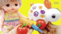 玩具益趣园 2016 芭比娃娃咪露哭了 面包超人组装小兔子哄她 76