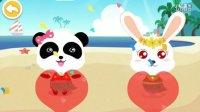宝宝巴士甜品店幼儿教育教宝宝制作水果冰淇淋沙冰冰棒亲子游戏叮铛小游戏夏天冰淇淋可不要吃太多太快哦