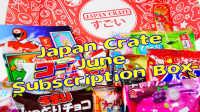 点心和糖果从日本 日本食玩 JapanCrate 饼干巧克力片
