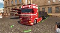 欧洲卡车模拟2_G27_H档 (DAF XF 95 运输32吨大轮子货柜)