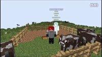 【小血】:模拟城市MOD生存:第七期:牛牛君农场!建筑商店完成一半!