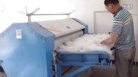 安徽太湖客户购买的全套棉被设备安装调试完成
