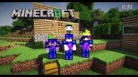 负豪渣&疯狂的世界『Minecraft』怪物大乱斗彩色蚂蚁世界EP8
